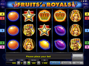 Играйте бесплатно в Fruits And Royals на бонусы Вулкана